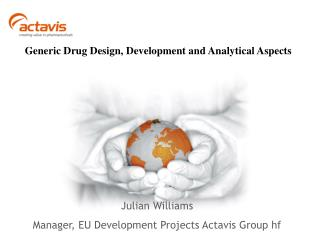 Generic Drug Design, Development and Analytical Aspects