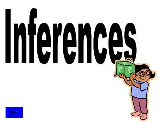 Inferences