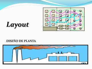 Layout DISEÑO DE PLANTA