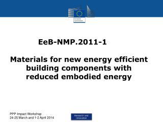 EeB-NMP.2011-1