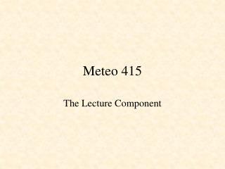 Meteo 415