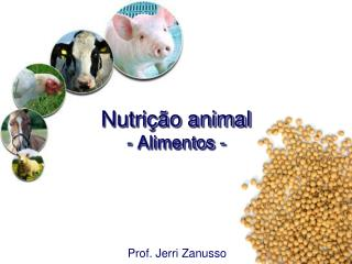 Nutri  o animal - Alimentos -