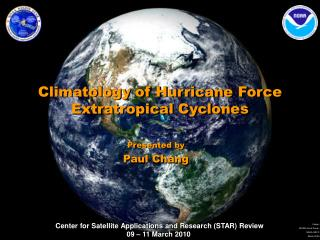 Climatology of Hurricane Force Extratropical Cyclones