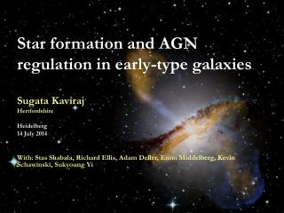 Star formation and AGN regulation in early-type galaxies