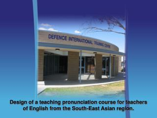 Defence International Training Centre  Melbourne