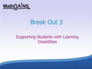 Break Out 3
