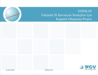ESİNKAP Eskişehirİli İnovasyon Stratejileri için Kapasite Oluşturma Projesi