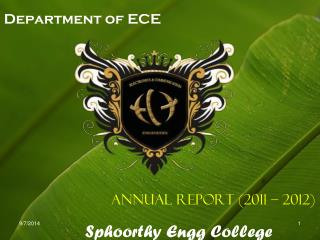 Department of ECE