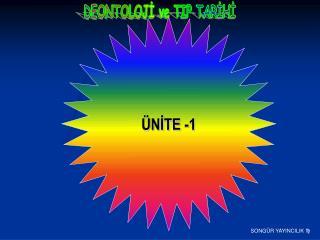 ÜNİTE -1