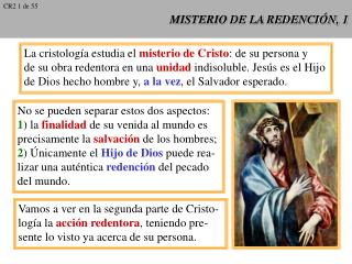 MISTERIO DE LA REDENCI N, 1