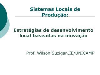 Estratégias de desenvolvimento local baseadas na inovação