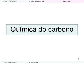 Química do carbono