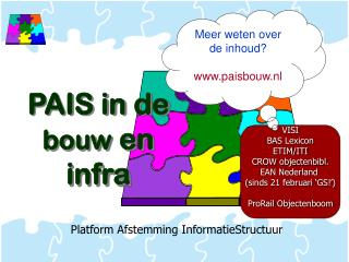 Platform Afstemming InformatieStructuur
