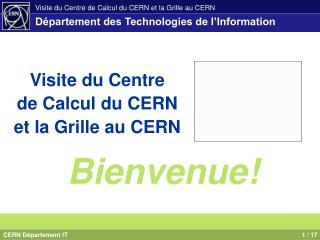 D�partement des Technologies de l�Information