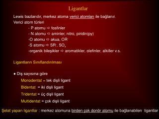 Ligantlar