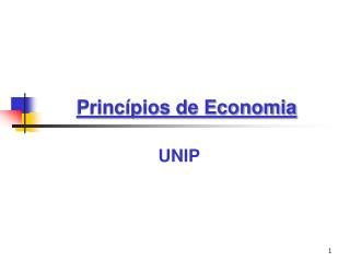 Princ pios de Economia