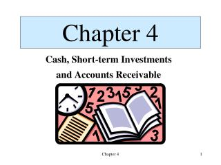 Cash, Short-term Investments and Accounts Receivable