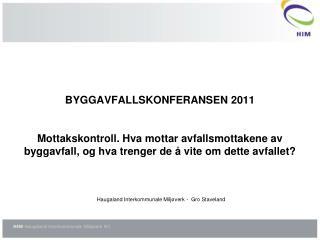 Haugaland Interkommunale Milj�verk -  Gro Staveland