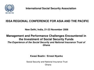 International Social Security Association