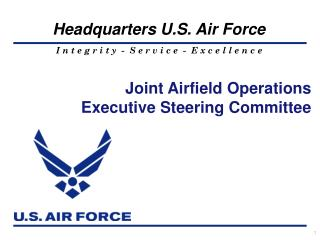 Joint Airfield Operations Executive Steering Committee