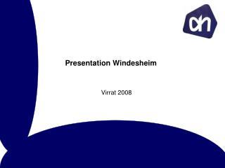 Presentation Windesheim