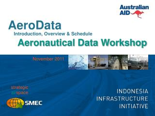 AeroData Introduction, Overview & Schedule