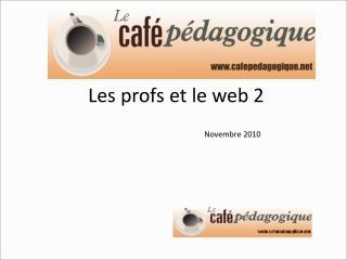 Les profs et le web 2