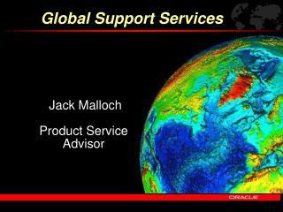 Jack Malloch Product Service Advisor
