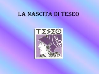 La nascita di Teseo