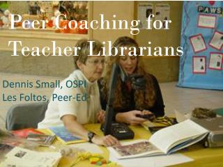 Peer Coaching for Teacher Librarians