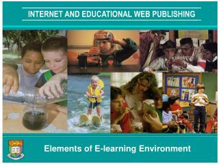 INTERNET AND EDUCATIONAL WEB PUBLISHING