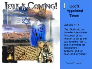 God 's  Appointed   Times
