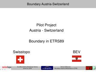 Boundary Austria-Switzerland
