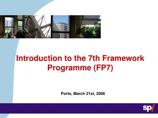 Introduction to the 7th Framework Programme (FP7)
