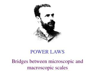 PARETO POWER LAWS Bridges between microscopic and macroscopic scales
