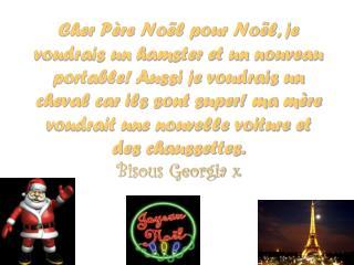 Cher P�re Noel,