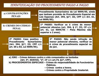 IDENTIFICA  O DO PROCEDIMENTO PASSO A PASSO