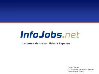 Ferran  Aznar Dir. Desenvolupament Negoci 2 Desembre 2002