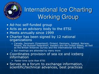 International Ice Charting Working Group