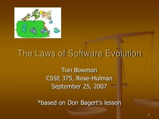 The Laws of Software Evolution