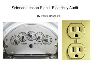 Science Lesson Plan 1 Electricity Audit