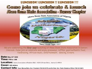 Akwa Ibom State Association - Denver Chapter