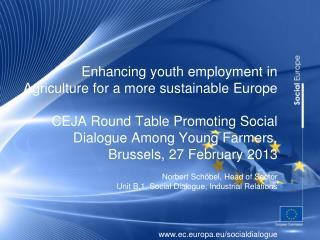 European social dialogue: a pillar of Europe�s social model