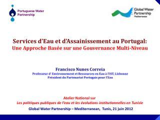 Services d'Eau et d'Assainissement au Portugal: