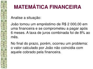 MATEM TICA FINANCEIRA