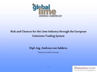 Risk and Chances for the Lime Industry through the European Emissions Trading System