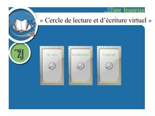 «Cercle de lecture et d'écriture virtuel»