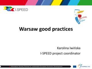 Warsaw good practices