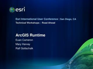 ArcGIS Runtime
