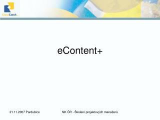 eContent+